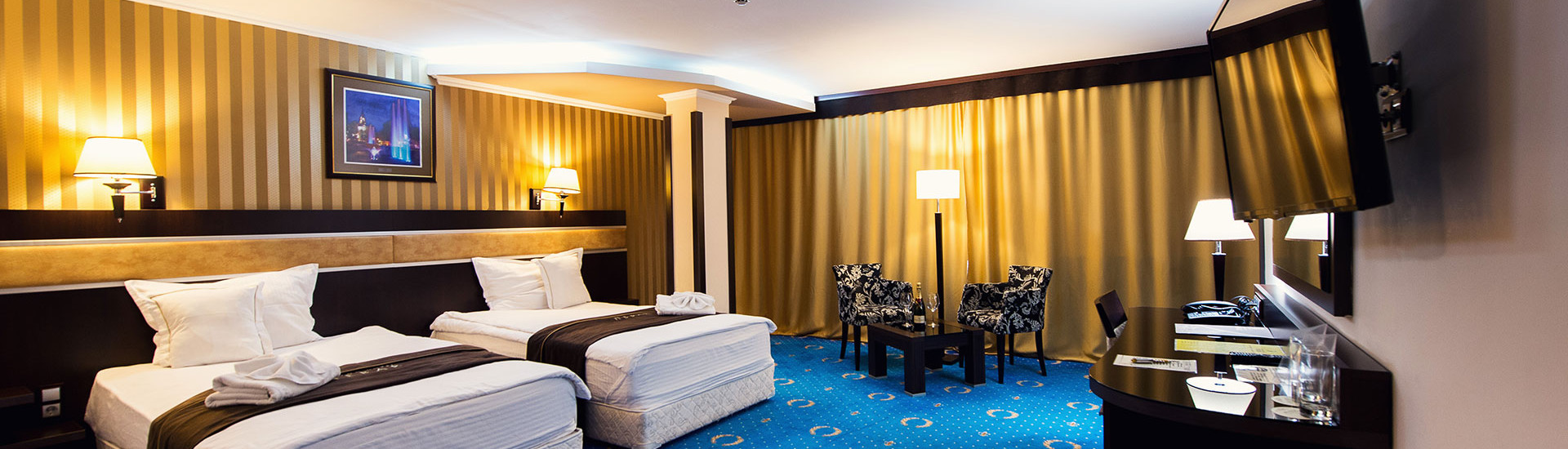 Grand Hotel Hebar - Rooms